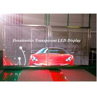 P10mm Behind Glass Mounted LED Curtain Display LED Perimeter Boards Manufactures