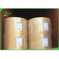 Good Water Absorption Cardboard Paper Roll / 230g - 450g Absorbent Blotter Paper For Card Manufactures