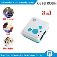 China Very small size location tracking children senior gps mobile phone/emergency watch phone on sale