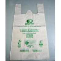 Biodegradable  T- Shirt Bag Manufactures