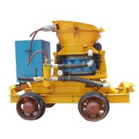 wet and dry type shotcrete machine for construction or mine Manufactures