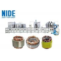 full aotumatic coil winding mahcine stator production line for  three phase washing machine Manufactures