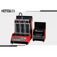 Quality 6 Cylinders Automatic Fuel Injector Tester And Cleaner Diagnostic 250W Input Power for sale
