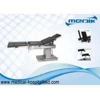 China Back Folded Surgical Operating Table Electric Surgery Table With Detachable Legs on sale