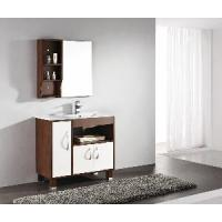 Solid Wood Bathroom Cabinet / Furniture / Vanity (MJ-042) Manufactures