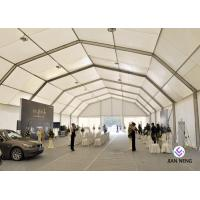 China Outdoor Exhibition Lightweight Aluminum Frame Tent For Car Show Trade Show on sale