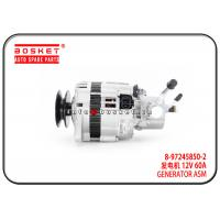 China 8-97245850-2 8972458502 Isuzu D-MAX Parts Generator Assembly For 4JH1 4JA1 TFR on sale