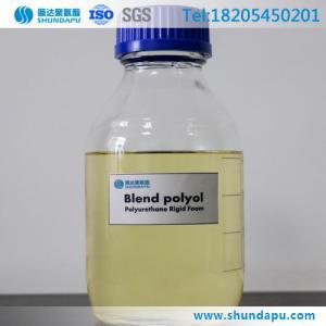 China Blend Polyols for Flexible Foam Spray Polyurethane Foam on sale