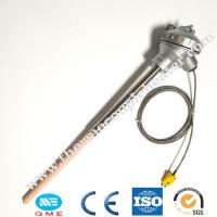 Pt10rh Pt Type Thermocouple Rtd 1600 Degree 12 - 480v Thread Connection Manufactures