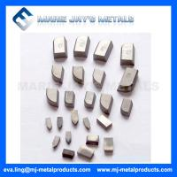Type E Tungsten Carbide Brazing Tips Manufactures