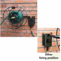 """Wall Mount, Hose Reel, 75M (245F) Length Capacity for 1/2"""" Hose Manufactures"""