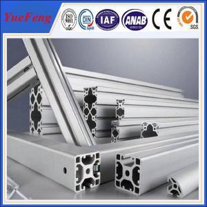 6063 6061 extrusion aluminum for industry, 6000 series industrial aluminum extrusions Manufactures