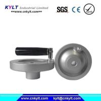 China Aluminum Alloy Die Casting Wheel Handle with bakelite holder on sale