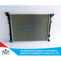 High Performance Auto Aluminium Car Radiators Hyundai Sontat 05MT Manufactures