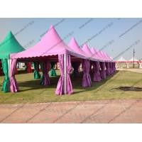 Colorful Multi - Side PVC Pagoda Tent Aluminium Alloy Frame For Event / Party Manufactures