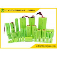 Rechargeable Nickel Metal Hydride Battery Cylindrical Single Cell Type 1.2V ni-mh battery NIMH battery pack in any size Manufactures