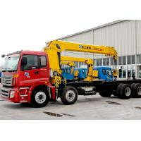 China Best Sales 14 Ton Telescopic Boom Truck Mounted Crane Driven By Hydraulic, 35 T.M on sale