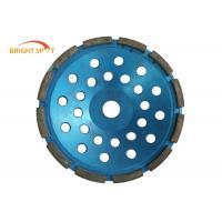 4 Inch Diamond Grinding Wheel 5.5x8x32mm , Long Lifespan Diamond Turbo Cup Wheel Manufactures