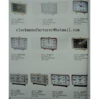 Electrical quartz mechanical clock with thermograph hygrometer temperature and humidity Manufactures
