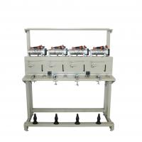 Oiling System Grooved Drum Rewinding Machine For Sewing Thread Manufactures