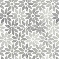 Quality New Best Selling Carrara Stone Flower Marble Pattern Atpalas Mosaics Tiles for sale