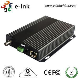 10 / 100M CCTV Fiber Optic Converter , CCTV To Ip Camera Ethernet Converter Manufactures