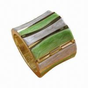 Amazing Vogue Large Wide Cuff Bangle Bracelet, Colorful Stripes, Wholesale Fashionable Jewelry Manufactures