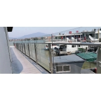 China Aperture 20mm SS304 1200mm Stainless Steel Balustrade Posts on sale