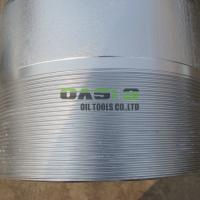 Xinxiang wire wrapped stainless steel wedge wire screen Manufactures