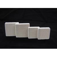 Heat-resistant High Alumina Honeycomb Ceramics Plate / Parts Dielectric Strength 10 KV/mm Manufactures