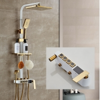 China Digital Display CE Thermostatic Intelligent Electricity Shower Faucet on sale