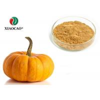 China Food Supplement Organic Herbal Extracts Nutritional Organic Pumpkin Powder on sale