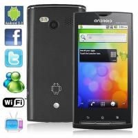 3.5 Inch Unlocked Android Dual Sim Smartphone With GPS Wifi Analog TV, Bluetooth A2DP Manufactures