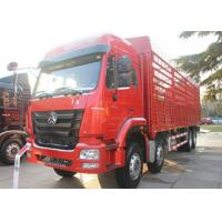 40 Ton Heavy Livestock Trucks , Four Axles Cattle Transport Trucks 11.00R20 Tire Manufactures