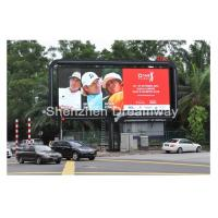 High Luminance Large Outdoor LED Highway Billboard PH16 Static Scanning For Cross Road Manufactures