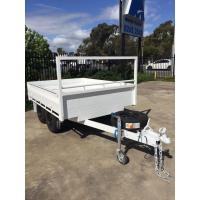 China Customized Tray Top Trailer  8x5 Tandem Trailer With Or Without Sides on sale