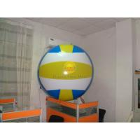 Waterproof 1.5m Diameter Sports Volleyball Balloons with 0.18mm PVC for Parade Manufactures