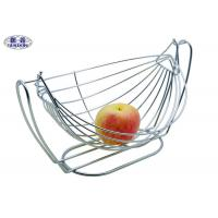 Boat Shape Fruit And Vegetable Baskets Decorative Anti - Rust Container Manufactures