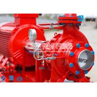 Fire Fighting Electric Motor Driven Fire Pump Group 45.4m³ / H UL Certificated Manufactures