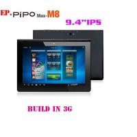 China Free shipping! PIPO M8 9.4 IPS android 4.1 build in3G tablet pc RK3066 dual core 1.6Ghz  on sale