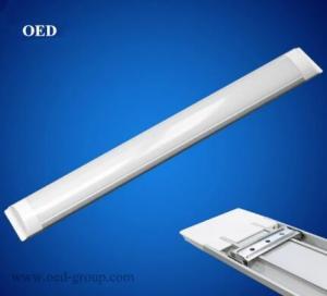 9W High Lumen LED Batten Light Tube/ LED Flat Tube/ Narrow LED Panel Light From China Manufactures