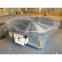China Steel Structure / Slewing Ring Rotary Welding Positioner , Automatic Welding Positioner 15 Ton Max Capacity on sale