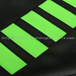 Kawasaki Kxf 250 450 Dirt Bike Parts Green PVC Replacement Motorcycle Seat Cover Manufactures