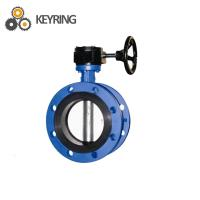 API 7K Drilling rig mud pump spare parts stainless steel Flange Butterfly Valve Manufactures