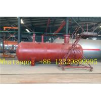 bullet type stationary underground LPG gas storage tanks for sale, hot sale best price buried propane gas storage tank Manufactures