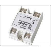 Fotek Type Electrical Relay / Solid State Variable Relay With LED Indication SSR-40DA Manufactures