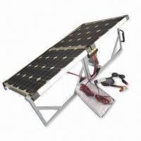 Portable Solar Panel for 12 to 24V Battery, Equipped with Controllers and Clips Manufactures