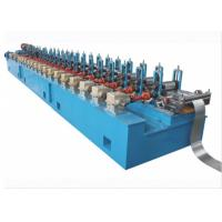 10-15m / Min Octagon Pipe Roll Forming Machine For Rolling Shutter Axes for sale