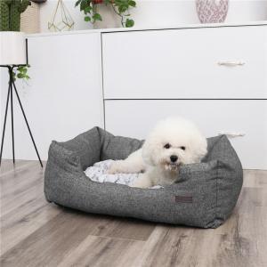 China Small Dog Bed Cushion Rectangular Shaped Fancy Eco Friendly Beautifully Designed on sale