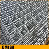 concrete reinforcing round steel bar welded mesh Manufactures